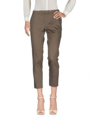 Повседневные брюки AKRIS PUNTO. Цвет: свинцово-серый