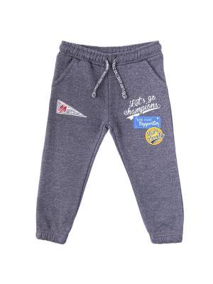 Спортивные брюки Knot so bad. Цвет: темно-серый
