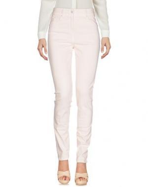 Повседневные брюки PAUSE CAFÉ. Цвет: светло-розовый