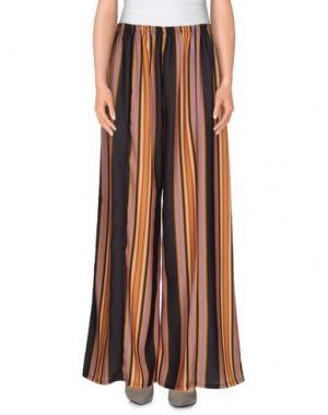 Повседневные брюки ANGELA MELE MILANO. Цвет: охра