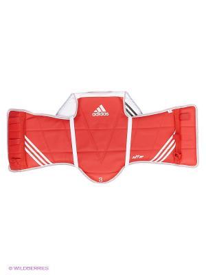 Защита корпуса двухсторонняя Adult Body Protector Reversible WTF Adidas. Цвет: синий, красный