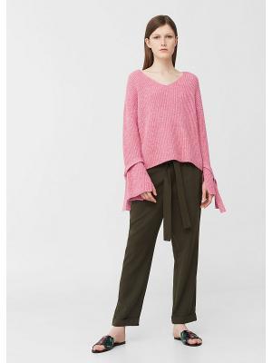 Пуловер - TULA Mango. Цвет: розовый