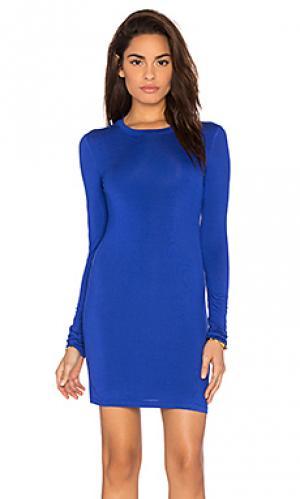 Мини платье BLQ BASIQ. Цвет: королевский синий