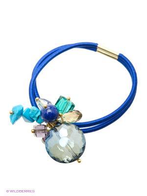 Заколки Kameo-bis. Цвет: синий, голубой, фиолетовый