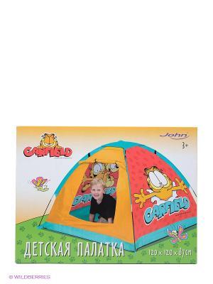 Палатка Гарфилд John. Цвет: красный, голубой