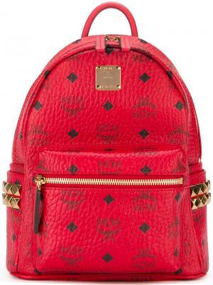 Маленький рюкзак MCM. Цвет: красный