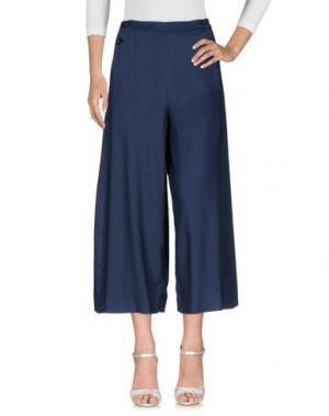 Джинсовые брюки TELA. Цвет: синий