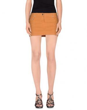 Джинсовая юбка LIU •JO. Цвет: коричневый