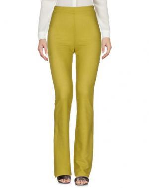 Повседневные брюки PETER A & CHRONICLES. Цвет: кислотно-зеленый