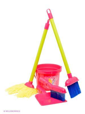 Набор для уборки Играем вместе. Цвет: розовый