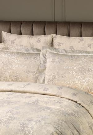 Комплект постельного белья 2-спальный Togas. Цвет: бежевый