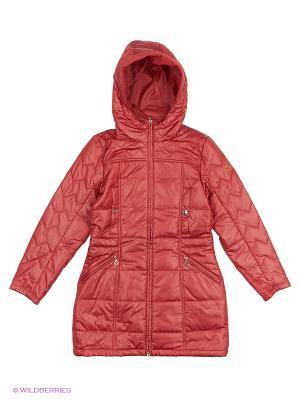 Пальто Finn Flare. Цвет: красный
