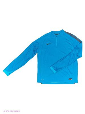 Лонгслив SELECT IGNITE WOOL MIDLAYER Nike. Цвет: голубой