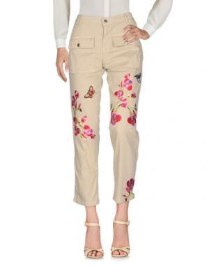 Повседневные брюки TENAX. Цвет: бежевый