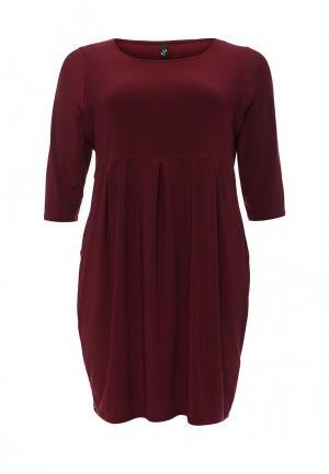 Платье Evans. Цвет: бордовый