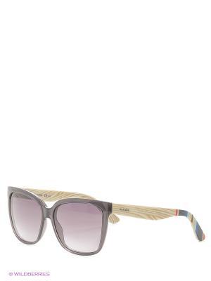 Солнцезащитные очки Tommy Hilfiger. Цвет: бежевый