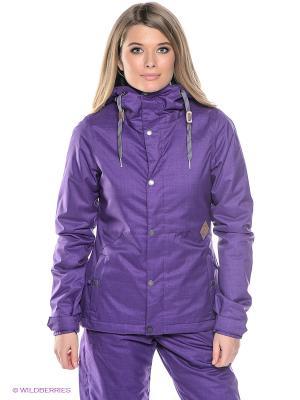 Куртка Volcom. Цвет: фиолетовый