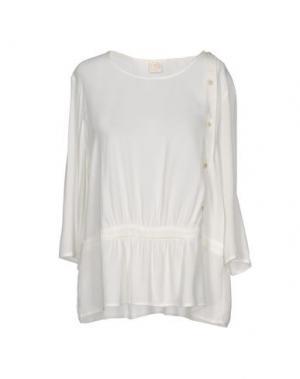 Блузка DES PETITS HAUTS. Цвет: белый