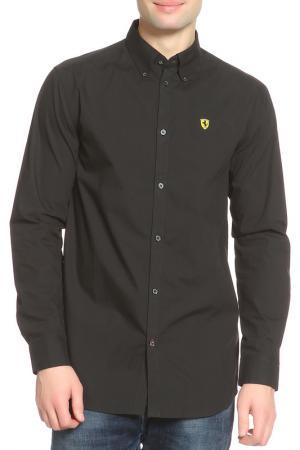 Рубашка Ferrari. Цвет: черный