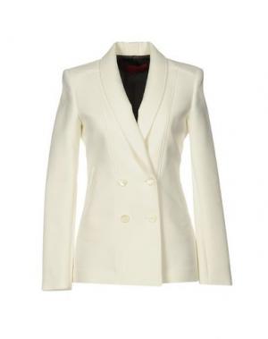 Пиджак TAMARA MELLON. Цвет: слоновая кость