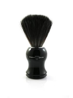 Помазок 21P36 черная смола искусственный ворс Edwin Jagger. Цвет: черный