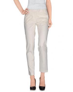 Повседневные брюки ATELIER ARCHIVIO. Цвет: слоновая кость