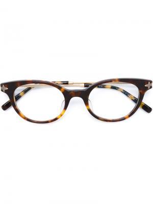 Очки M2022 Matsuda. Цвет: коричневый