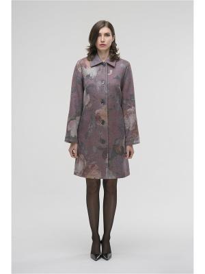 Пальто Modern. Цвет: розовый