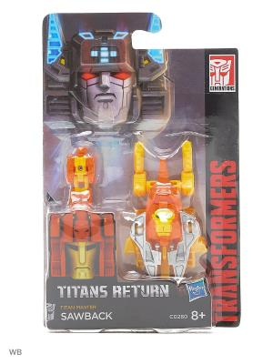 Дженерэйшнс Войны Титанов: Мастера Титанов Transformers. Цвет: оранжевый, желтый