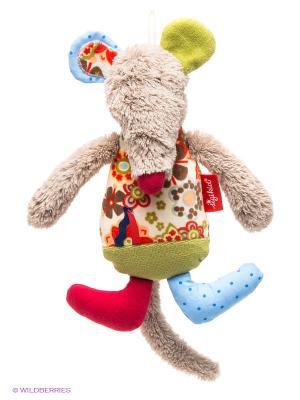 Музыкальная игрушка Мышка Sigikid. Цвет: бежевый