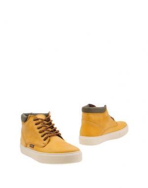 Полусапоги и высокие ботинки VICTORIA. Цвет: охра