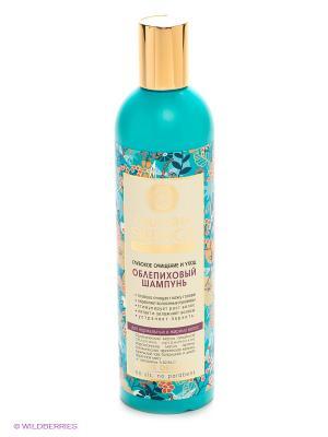 Шампунь облепиховый для нормальных, жирных волос400мл Natura Siberica. Цвет: голубой