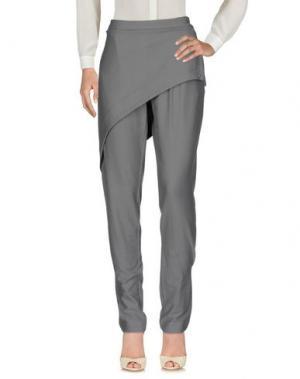 Повседневные брюки OBLIQUE CREATIONS. Цвет: серый
