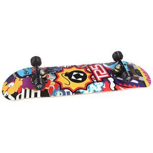 Скейтборд в сборе  Simbomb Multi 32 X 8.125 (20.6 См) Turbo-FB. Цвет: мультиколор