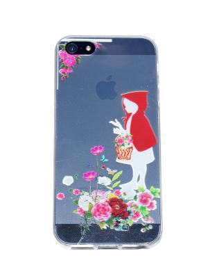 Чехол для iPhone 5/5s Lola. Цвет: красный, белый, зеленый