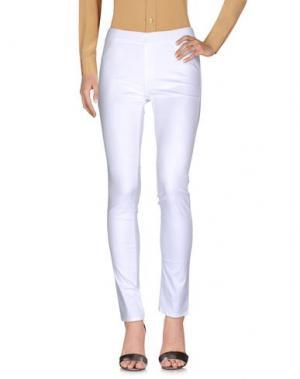 Повседневные брюки BARONI. Цвет: белый