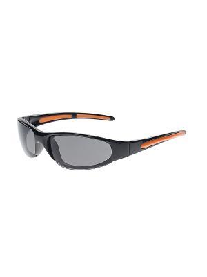 Очки солнцезащитные Infiniti. Цвет: серый, оранжевый, черный