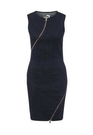 Платье джинсовое Concept Club. Цвет: синий