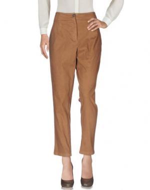 Повседневные брюки PDR PHISIQUE DU ROLE. Цвет: коричневый