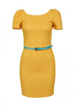 Платье Ark & co. Цвет: желтый