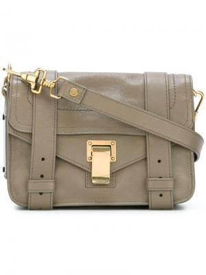 Мини сумка через плечо PS1 Proenza Schouler. Цвет: телесный