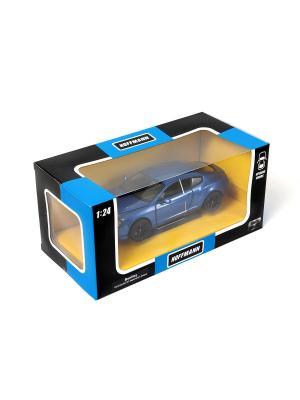 Машина металлическая Bentley Continental GT Supersport ISR 1:24. HOFFMANN. Цвет: синий