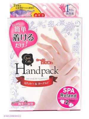 SPA маска-перчатки для рук Roland 2 пары. Цвет: прозрачный