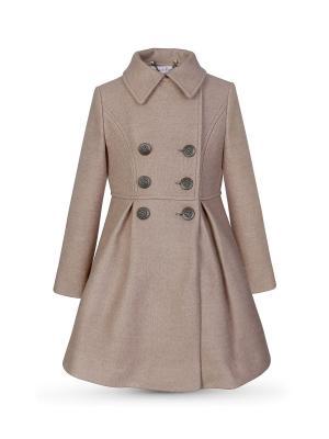 Пальто Миранда Alisia Fiori. Цвет: бронзовый, светло-коричневый, темно-бежевый