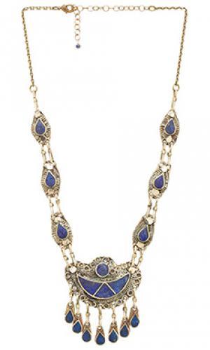 7 seas necklace Natalie B Jewelry. Цвет: металлический бронзовый