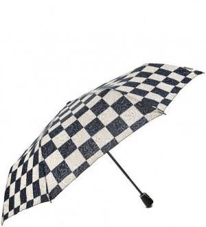 Складной зонт со стальными спицами Doppler. Цвет: синий