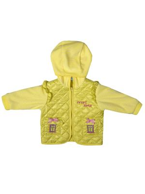 Куртка Бимоша. Цвет: желтый