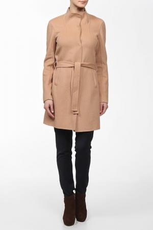 Пальто BGN. Цвет: camel