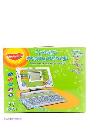 Электронная развивающая игра Супер-компьютер GENIO KIDS. Цвет: салатовый
