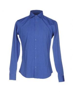 Pубашка MASSIMO BRUNELLI. Цвет: синий